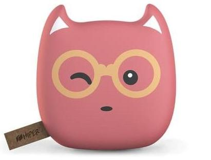 HIPER Power Bank ZOO 7500 Bubble Gum