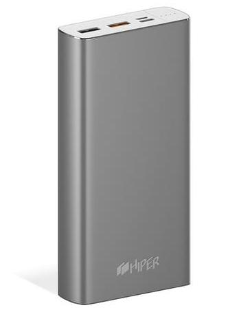 HIPER Power Bank MPX20000 Space Gray